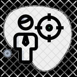 Man Aim Icon