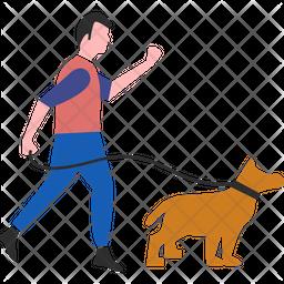 Man Dog Icon