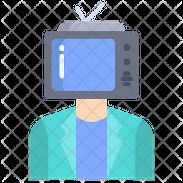 Man Reporter Icon