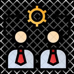 Management relationship Icon