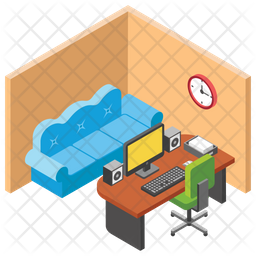 Manager Cabin Icon