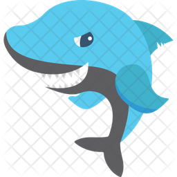Manatee Icon Of Flat Style Available In Svg Png Eps Ai Icon Fonts