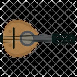 Mandolin Guitar Icon