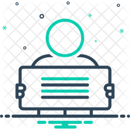 Manifestation Line Icon