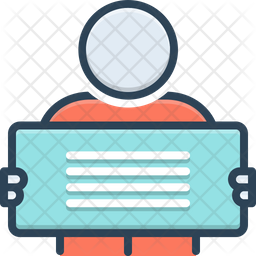 Manifestation Colored Outline Icon