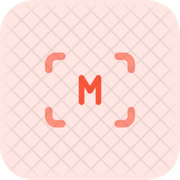 Manual Focus Flat Icon