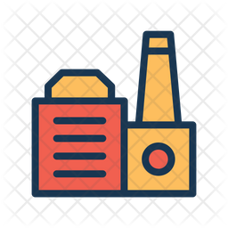 Manufacturing Building Icon