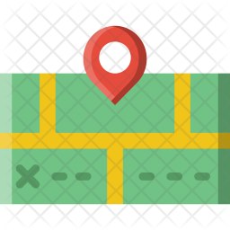 Map Icon of Flat style - Available in SVG, PNG, EPS, AI & Icon fonts