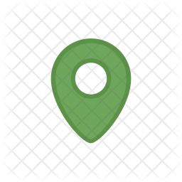Map pin Colored Outline Icon