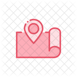 Map Route Icon Of Colored Outline Style Available In Svg Png Eps Ai Icon Fonts