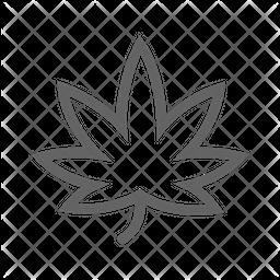 Maple Line Icon