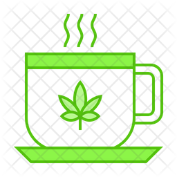 Marijuana Tea Icon