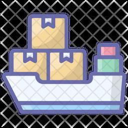 Maritime Shipment Icon