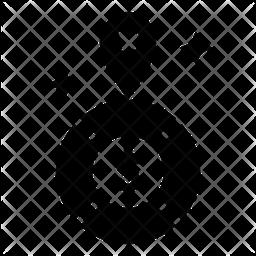 Market Position Glyph Icon