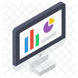 Market Research Isometric Icon