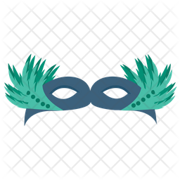 Masquerade Mask Icon Of Flat Style Available In Svg Png Eps Ai Icon Fonts