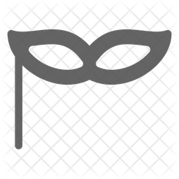 Masquerade Mask Icon Of Glyph Style Available In Svg Png Eps Ai Icon Fonts