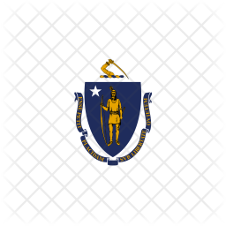 Massachusetts Flag Icon