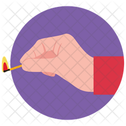 Matchstick Icon