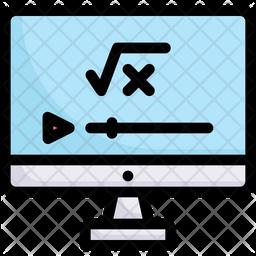 Mathematics Tutorial Icon