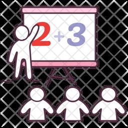 Maths Class Icon