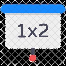 Maths Presentation Icon