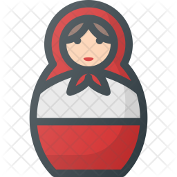 Matreshka doll Icon