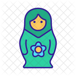 Matryoshka Mother Icon