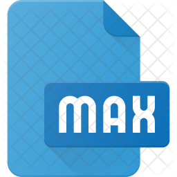 Max file Flat Icon