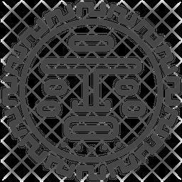 Maya aztec Icon