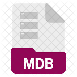 Mdb file Icon