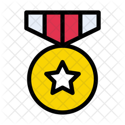Medal Icon Of Colored Outline Style Available In Svg Png Eps Ai Icon Fonts