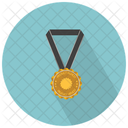 Medal With Star Icon