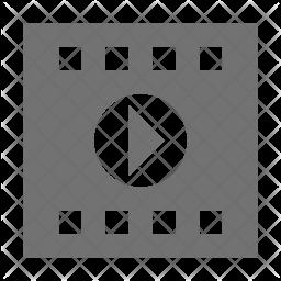 Media Glyph Icon