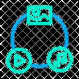 Media Connection Icon