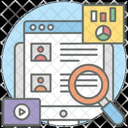 Media Monitoring Icon