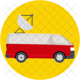 Media Vehicle Icon