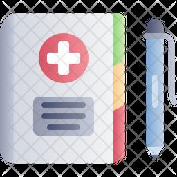 Medical Agenda Icon