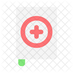 Medical Book Flat Icon
