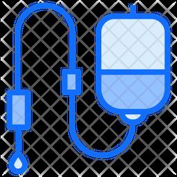 Iv Drip Dualtone Icon