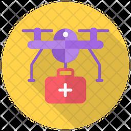 Medical Drone Icon