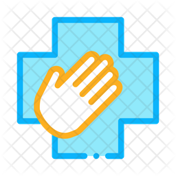 Medical Helping Hand Icon