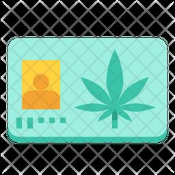 Medical Marijuana Card Icon