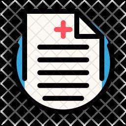 Medical recipe Icon