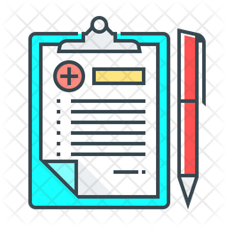 Medical Records Icon Of Colored Outline Style Available In Svg Png Eps Ai Icon Fonts