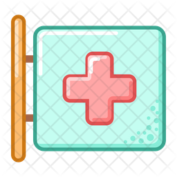 Medical Signboard Icon