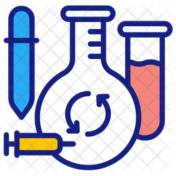 Medical waste Colored Outline Icon