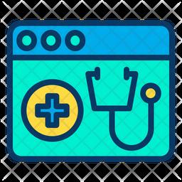 Medical Webpage Icon