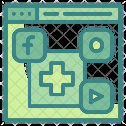 Medical Website Icon