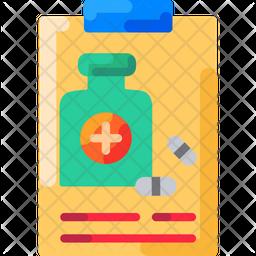 Medication Management Flat Icon